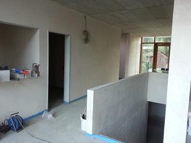 schon ende november ist der anbau fertig. Black Bedroom Furniture Sets. Home Design Ideas