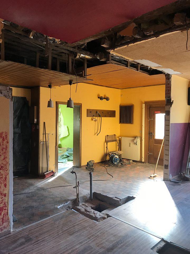 gro e renovierung nach 40 jahren. Black Bedroom Furniture Sets. Home Design Ideas